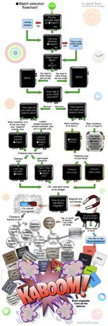 Apple Watch Flow Chart