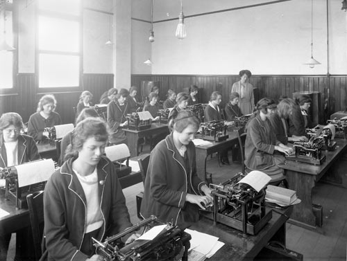 Typing Class - 1923