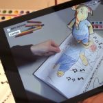 AR Pop-up Coloring Book from Disney