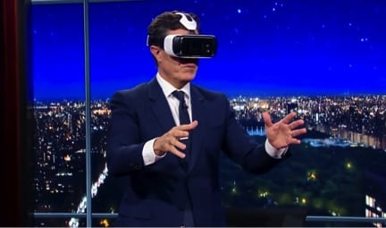 Stephen Colbert Virtual Reality