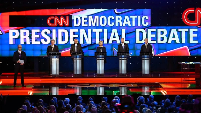 CNN Debate in Virtual Reality