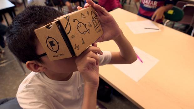 Google Expeditions Project Expands VR