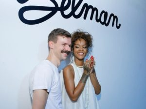 Rihanna and Selman - Wearable Tech