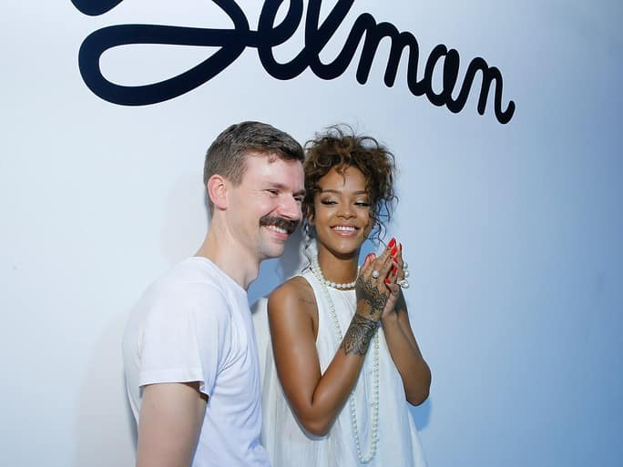 Rihanna and Selman - Wearable Tech