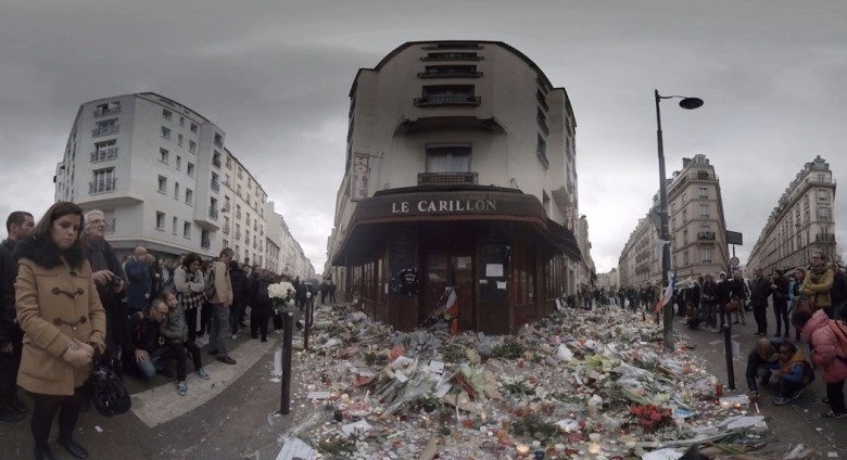 NY Times Virtual Reality Film of Paris Vigils