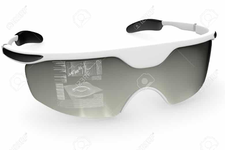 Future forms of Virtual Reality will be accessed through glasses with wrap-around lenses.