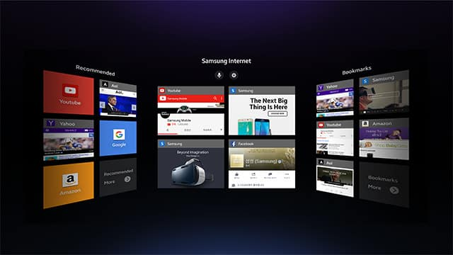Samsung Internet for VR - the beginning of Virtual Reality Web Browsing