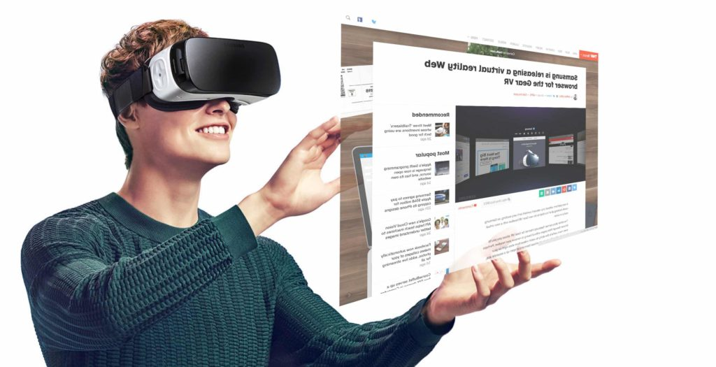 Samsung Gear VR - here comes Virtual Reality Web Browsing