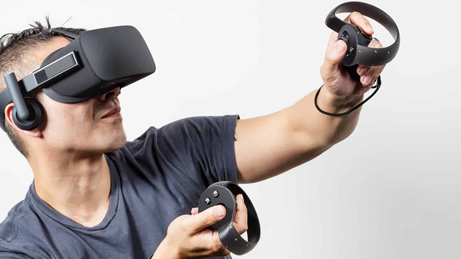 Oculus Rift with Controllers