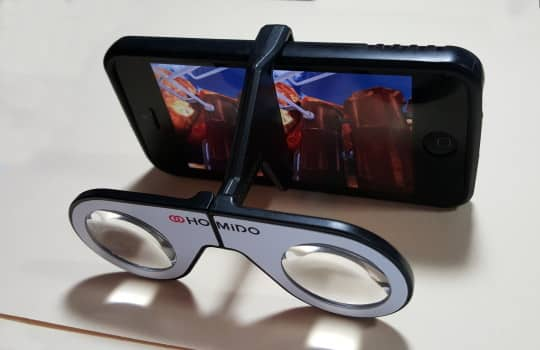 Homido Mini VR Headset is more versatile that Google Cardboard VR