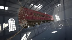 Virtual Reality Ghost Train
