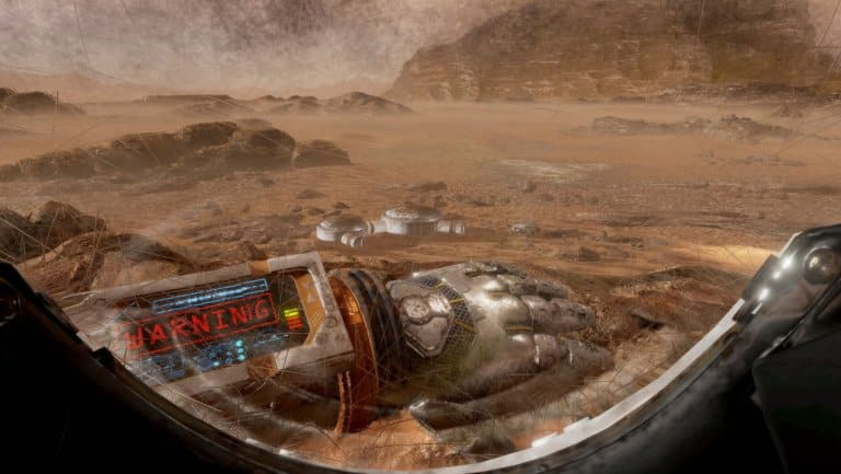 The Martian VR Experience at CES 2016