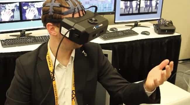 Mindmaze VR Interface