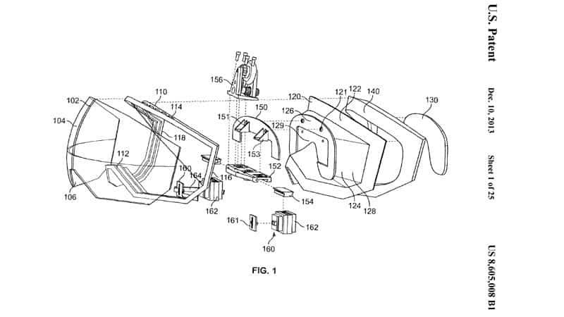 Apple VR Patent