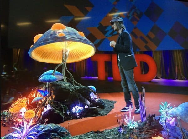 HoloLens Demo at TED 2016