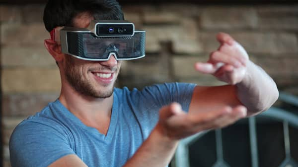 Augmented Reality Glasses from Meta