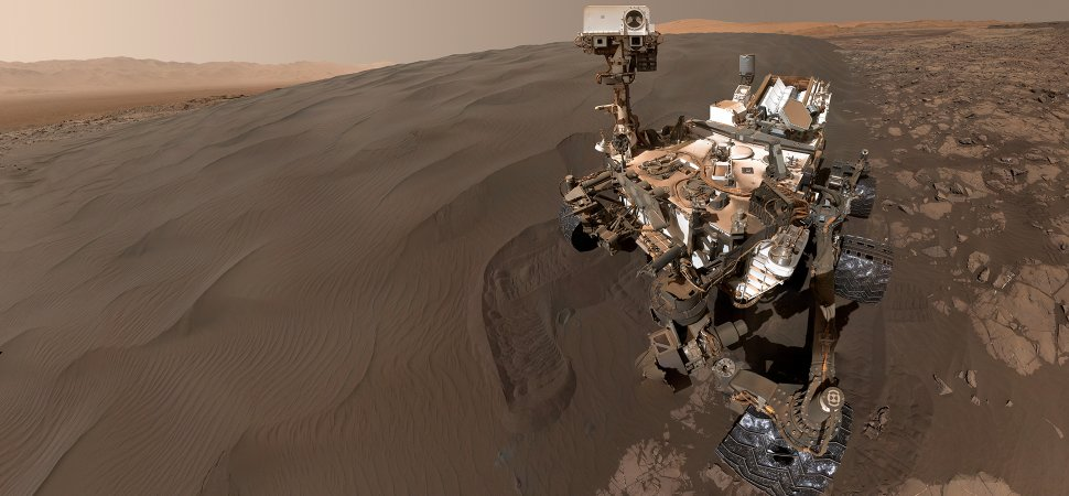 NASA Curiosity Rover