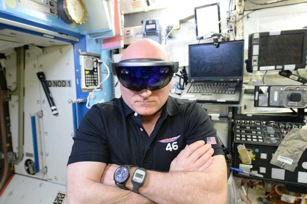 HoloLens NASA - Scott Kelly
