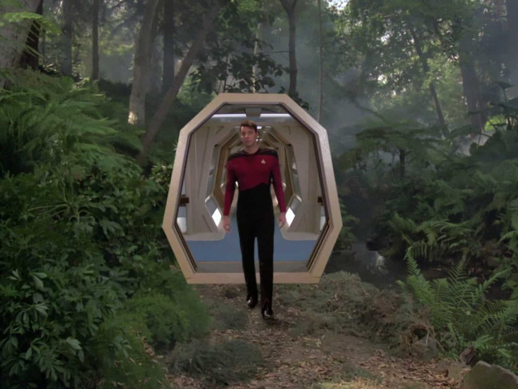 Virtual Reality experience: The Star Trek HoloDeck