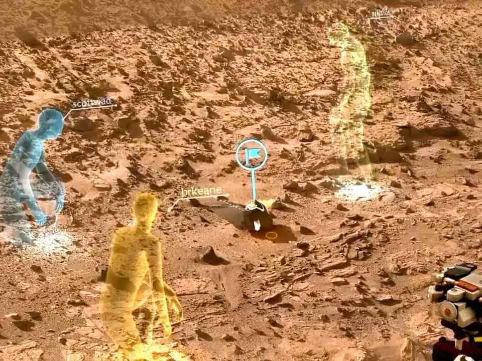 NASA virtual reality - VR Mars Surface
