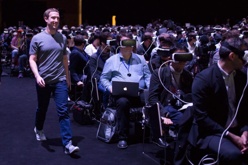 Mark Zuckerberg at MWC 2016