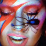 Lady Gaga as David Bowie - Augmented Reality Future