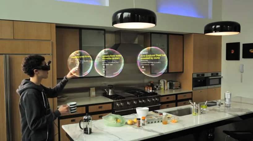 Meta Augmented Reality Glasses Early Demo