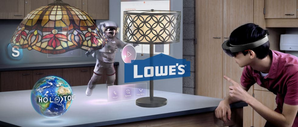 Microsoft HoloLens and lowes