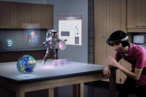 Microsoft HoloLens at Lowes