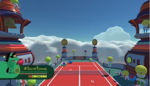 VR Games - Selfie Tennis