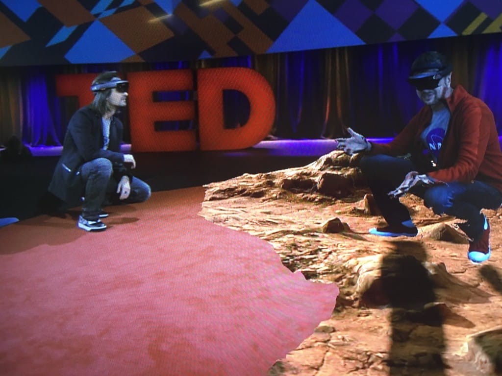 Microsoft HoloLens at TED Conference