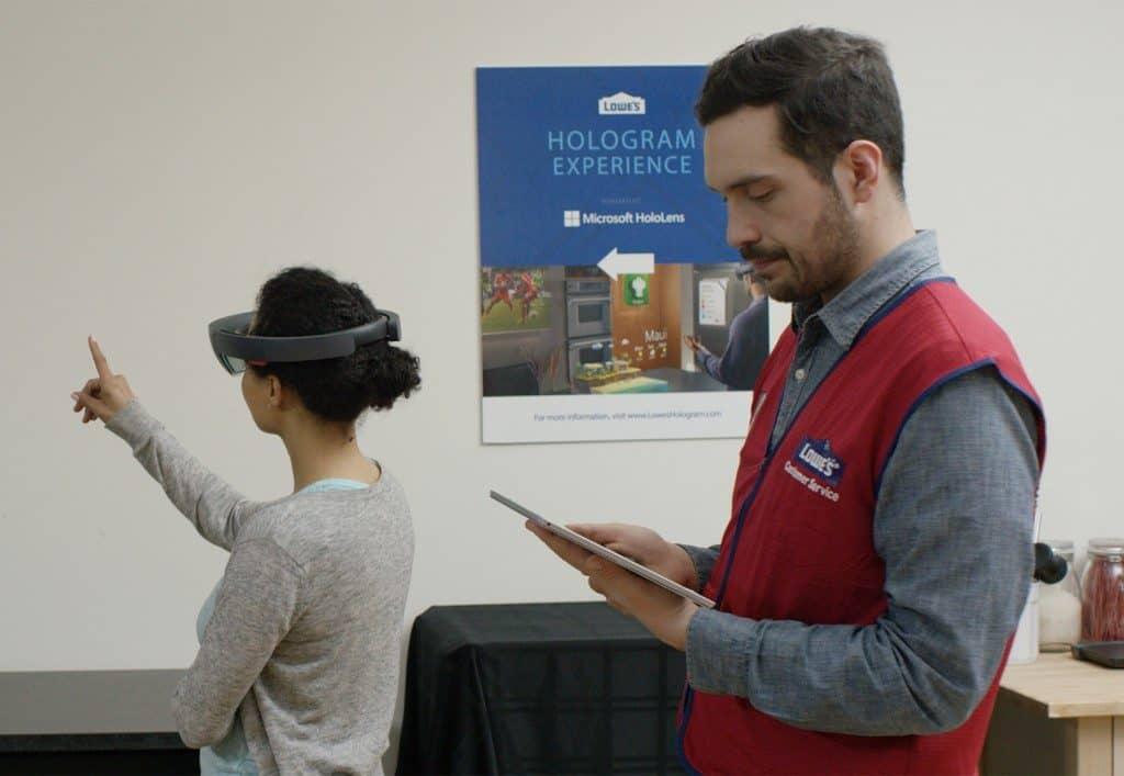 Lowes HoloLens AR Pilot
