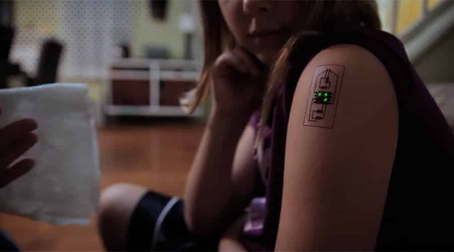 Wearables as Biometric Tattoos