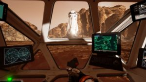 Virtual Reality Travel - Driving the_Martian_VR_Experience Rover
