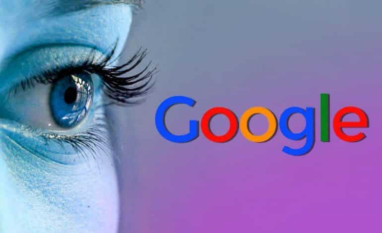 Google Eye Lens patent