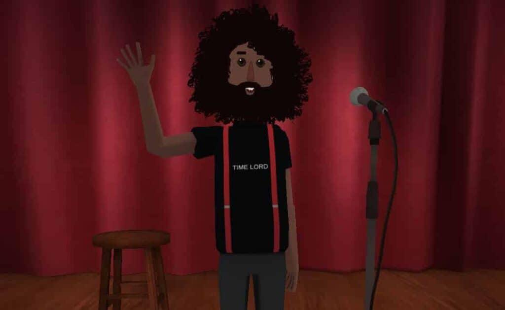 VR Music - Reggie Watts Avatar in AltspaceVR
