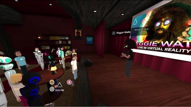 Reggie Watts Live VR Experience