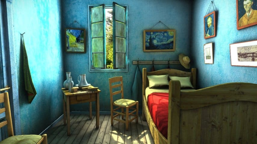 Sketchfab - Van Gogh Bedroom