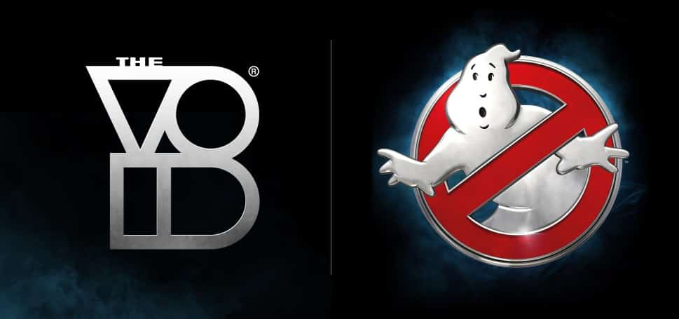 The Void and Ghostbusters Logos