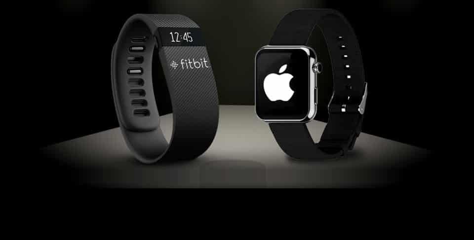 Wearables - Apple-Watch-Fitbit