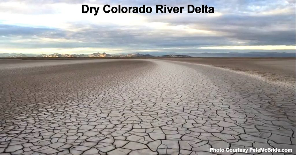 Dry Colorado Riverbed - like our future bandwidth?