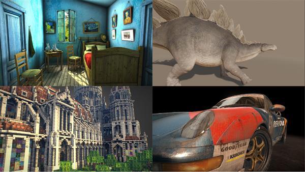 Sketchfab VR Model Examples