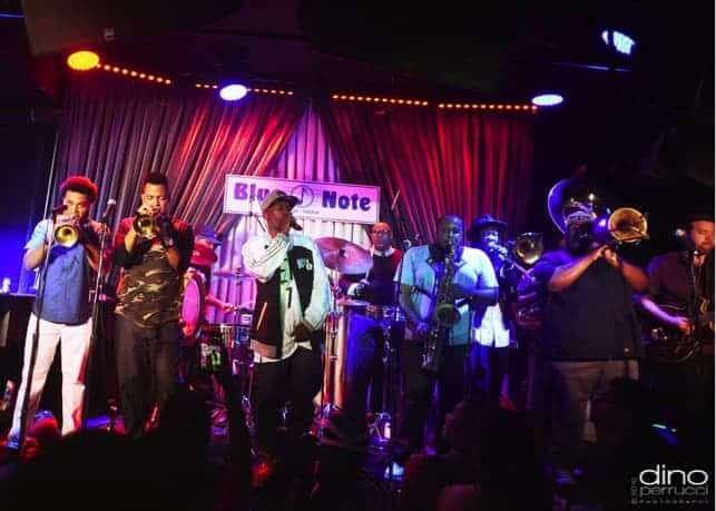Live streaming VR at the Blue Note Jazz CLub