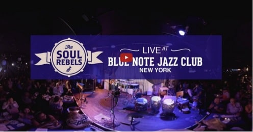 Live Streaming VR at the Blue Note