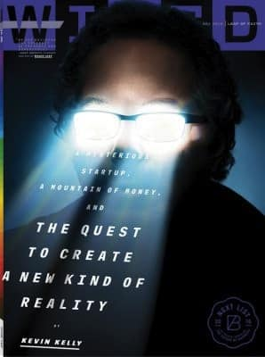 Magic Leap in Wired Magazine