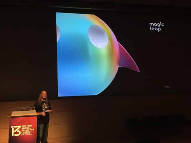 Magic Leap Presentation at Games for Change