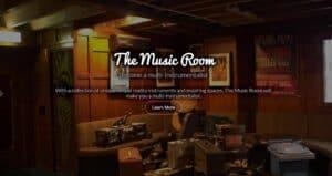 Virtual Reality The Music Room