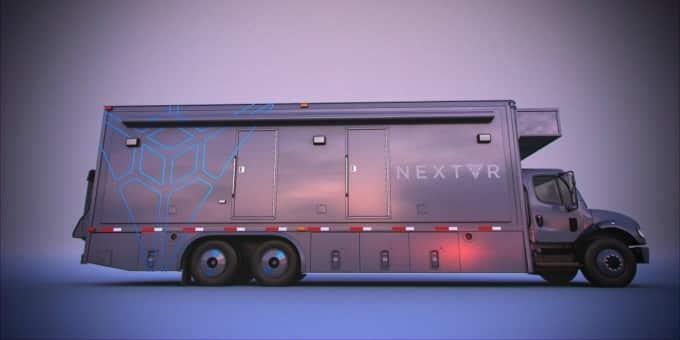 NextVR's Mobile VR Broadcast Truck