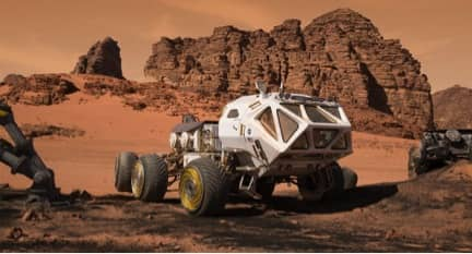 Virtual Reality Travel - Driving the Martian Rover