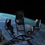 Social VR vTime Meeting in Space